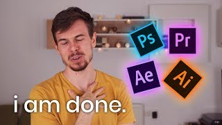 Why I Don't Use Adobe Creative Cloud Anymore
