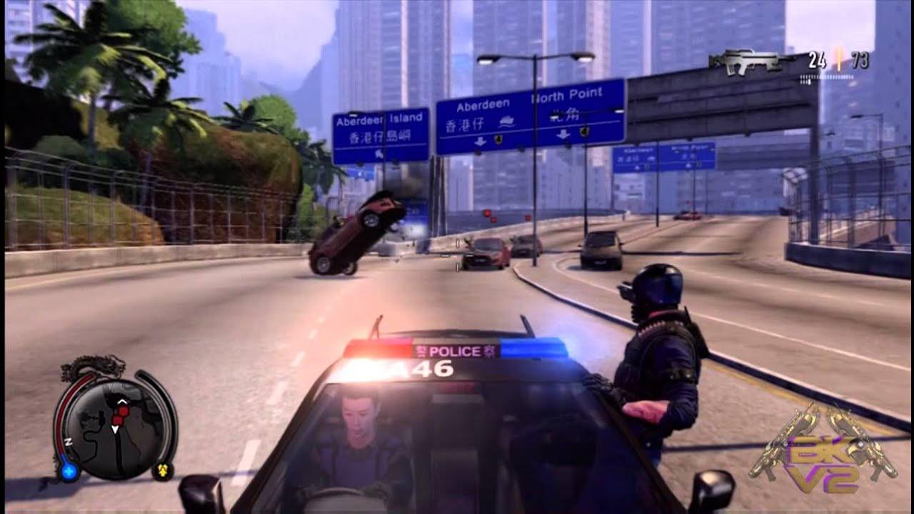 Sleeping Dogs Police Car
