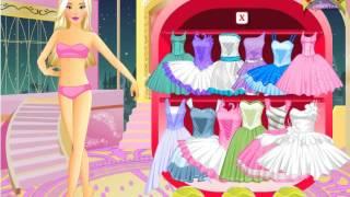 BARBIE Em Aula De Dança (ROUPA ) JOGO - BARBIE In Dance Class (CLOTHES) GAME -