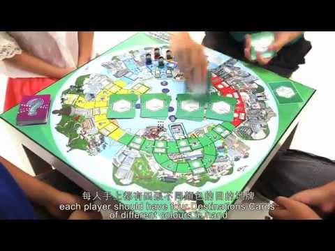 Locally Designed Board Game by Hongkong Post - Postman Delivery Game
