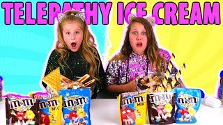 Twin Telepathy Ice Cream Sundae Challenge!!!