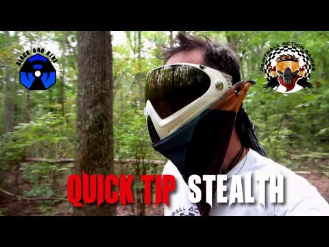 Quick Tip - Paintball Stealth: How To Play Paintball