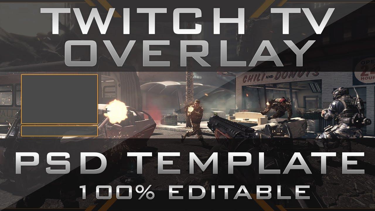 free gfx  twitch overlay template 100  editable psd 2014