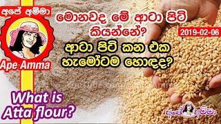 What is atta flour by Apé Amma