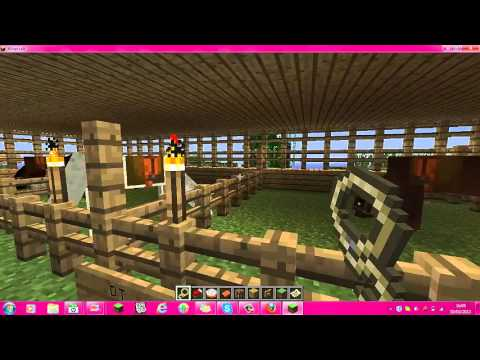 Minecraft-  Simply Horses Mod