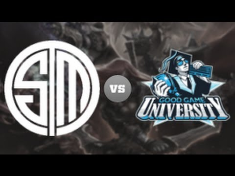 TSM vs GGU -  LCS 2013 NA Spring W10D3 (English)