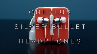 OnePlus Silver Bullet Headphones Unboxing and Review!