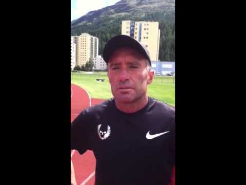 Brief chat with Alberto Salazar