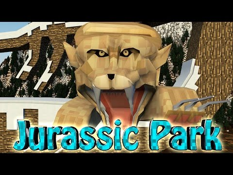 Minecraft Dinosaurs Jurassic Craft Modded Survival Ep 45 ICE DINOSAURS