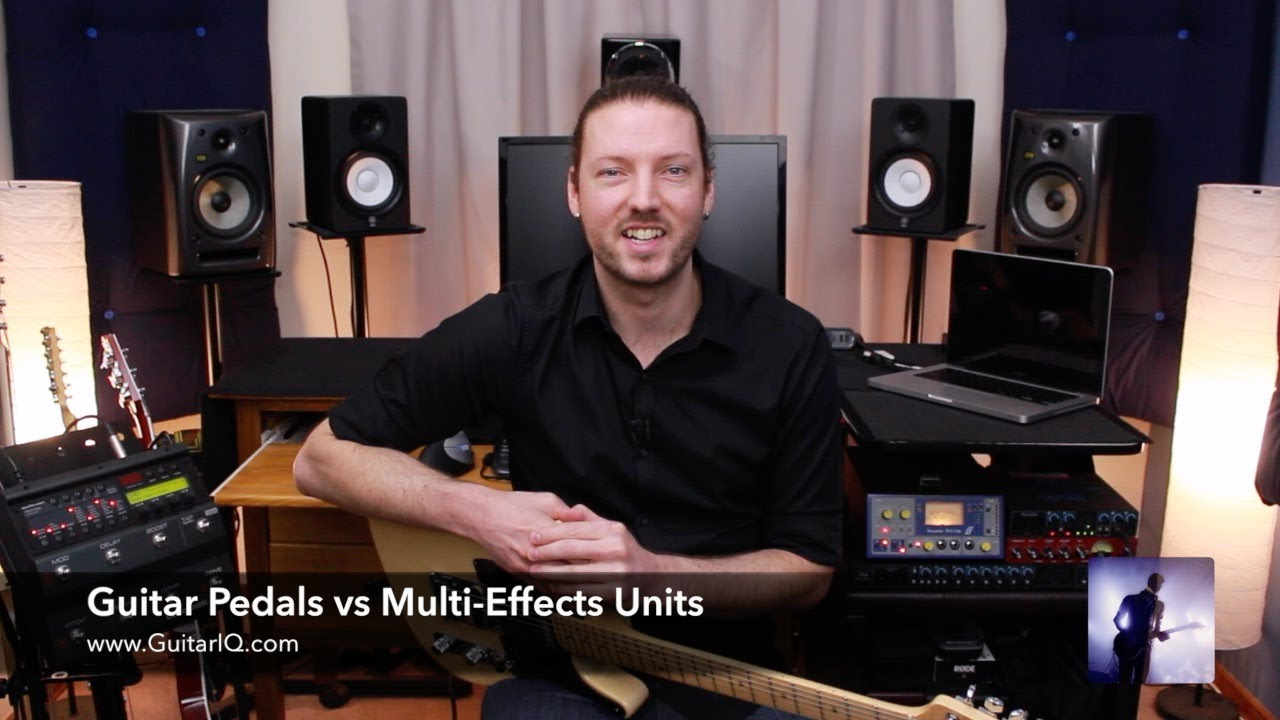 Guitar Pedals Board Guitar Pedals vs Multi-effects