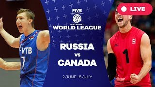 Russia v Canada - Group 1: 2017 FIVB Volleyball World League