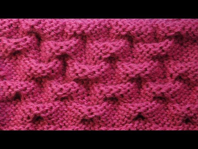 Обалденный узор для шапки   Узор вязания спицами Клоке 30