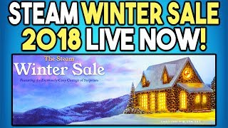 Steam Winter Sale 2018 Live Now! - Get a Free Game!