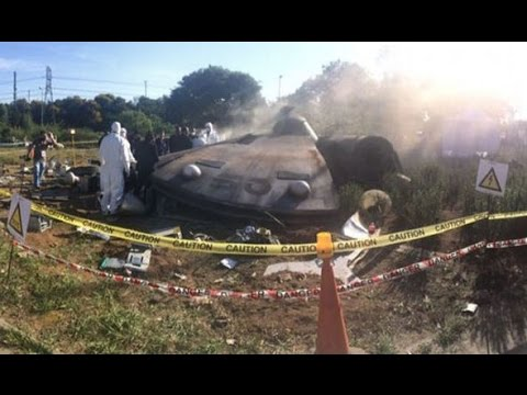 UFO CRASHES IN SOUTH AFRICA? DECEMBER 17, 2015 (EXPLAINED)