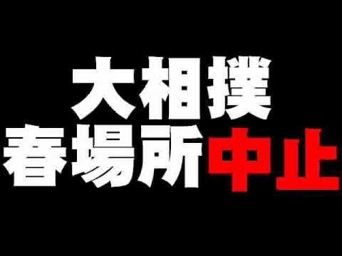 大相撲春場所中止について。- 2011.02.05