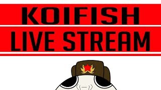 Koifish Super Cool Livestream! Come hang out with Koifish!