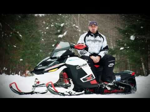 SnowTrax Test Rides Ski-doo Renegade X 1200