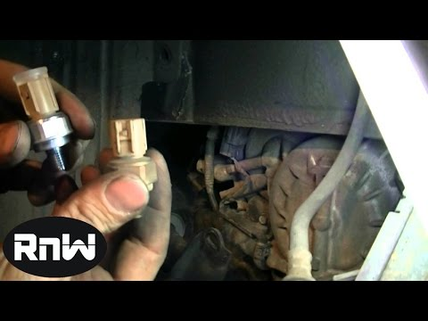 P1740   4th Gear Pressure Switch Replacement on a 2000 Acura TL