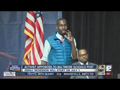 Activist appointed to Baltimore Schools post