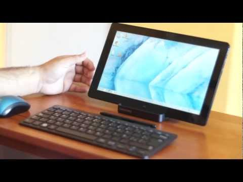 Samsung Slate Series 7 con windows 8