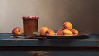 Still life painting time-lapse demo