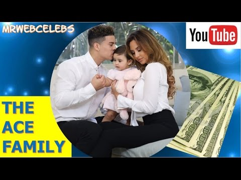 How much does THE ACE FAMILY make on YouTube 2017