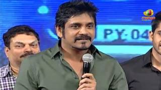 Tadakha - Nagarjuna Emotional Speech - Thadaka Audio Launch / Tadaka / Tadakha / Thadakha