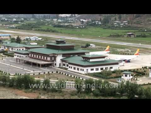 Bhutan's Paro airport is one of the toughest to land at!