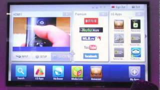 LG - talking Smart TV at CES 2011