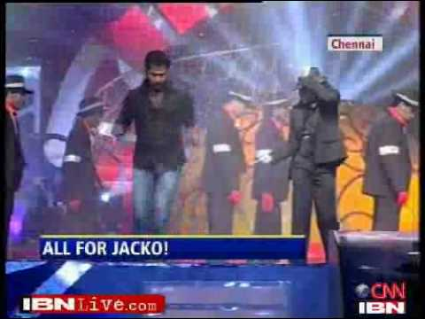 Prabhu Deva gets Dangerous, dances for MJ IBNLive com Videos Music Videos