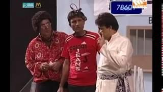 Umer Sharif And Saleem Afridi - Yeh To House Full Hogaya_clip4 - Pakistani Comedy Stage Show