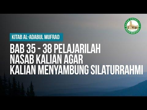 Bab 35, 36 Ustadz Ahmad Zainuddin Al-Banjary