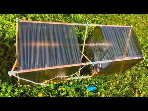 Коробчатый воздушный змей своими руками / Homemade box kite