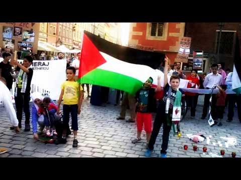 Stop wojnie - Dzieci w Gazie chcą żyć // Stop war - children in Gaza want live