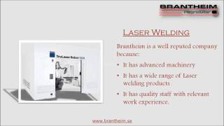[Robotic welding at Brantheim] Video