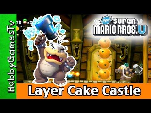 Super Mario Bros.U Layer Cake Desert Castle and Maze HobbygamersTV HobbyDad HobbyKid Wii U