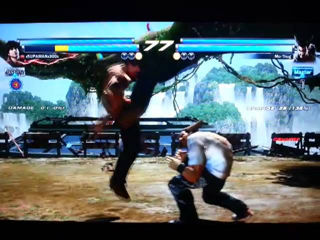 Heihachi  online matches Mo-Thug vs xSUPAMANx300x part 1