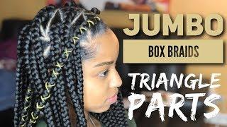 Jumbo Triangle Box Braids