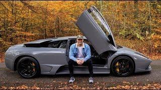 SPECIAL DRIVE in my LOUD Lamborghini Murcielago LP640