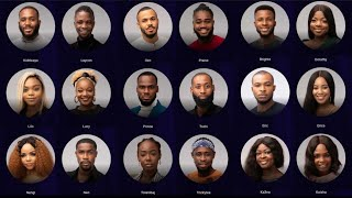 BIG BROTHER NAIJA LOCK DOWN 2020 SEASON 5 MEET THE HOUSEMATES #bbnaija5 #bbnaijalockdown