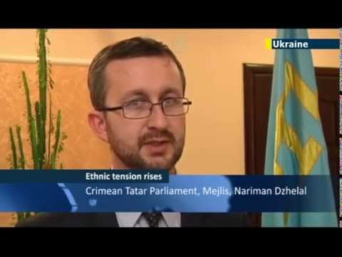 Crimean Tatars to boycott Crimea vote to join Russia JN1 07/03/2014 07 March 2014