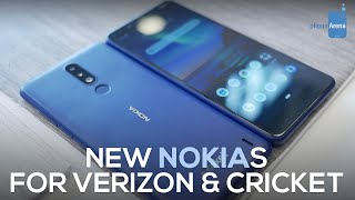 Nokia 2V and 3.1 Plus hands-on -- they're on carriers!