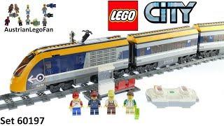 Lego City 60197 Passenger Train 2018 - Lego Speed Build Review