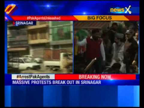 Massive protests break out in Srinagar