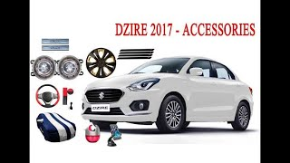 new maruti swift Dzire accessorios