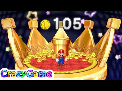 Mario Party 10 Coin Challenge #5 Mario vs Luigi vs Peach vs Rosalina Gameplay