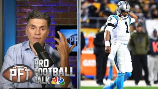 PFT Overtime: How much does Newton have left? Antonio Brown update | Pro Football Talk | NBC Sports