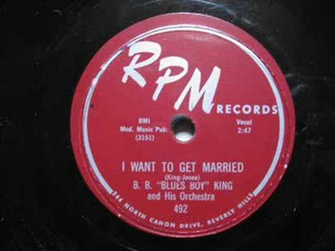B.B. King - I Want To Get Married