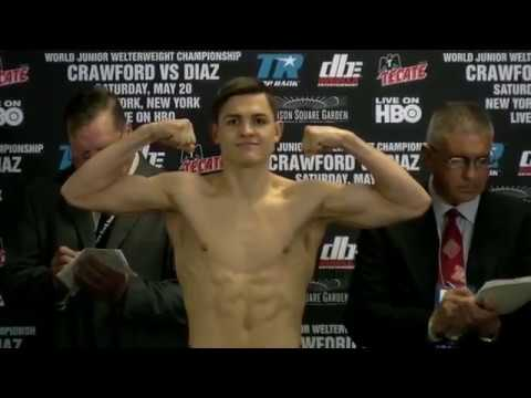 Weigh-in: Konstantin Ponomarev and Ed Paredes