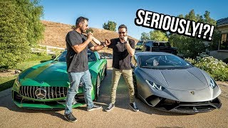 AMG GTR vs Huracan Performante! *SHOCKING RESULTS*